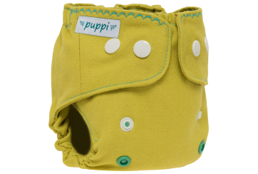 """Lime&Thyme"" Merino Diaper Cover - NB"