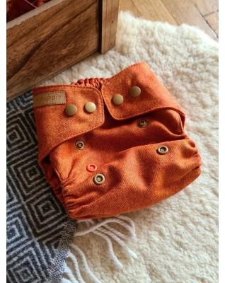 """""""Rusty Fox"""" Merino Wool Cover Mini OS"""