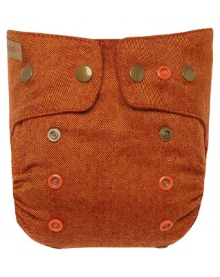 """Rusty Fox"" Merino Wool Cover OS+"