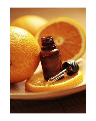 Raw orange essential oil