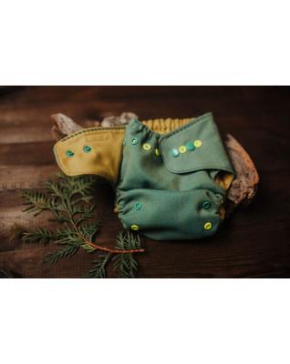 """""""Green Herringbone"""" V2 Merino Wool Cover"""