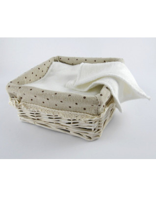 Terry Cloth Wipes 15x15 cm