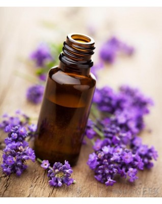 Raw lavender essential oil