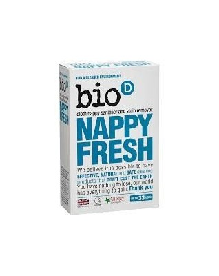 Bio-D Nappy Fresh, antybakteryjny dodatek do prania pieluch