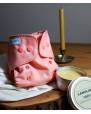 """Otulacz wełniany """"Coral Pink"""" - Mini OS"""