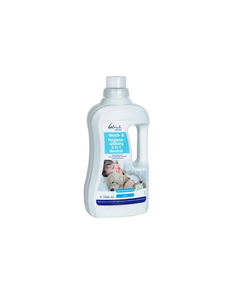 Antybakteryjny płyn do pieluch 3w1
