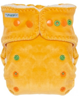 """""""Late Fall"""" Fitted Pocket Diaper"""