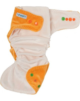 """Late Fall"" Fitted Pocket Diaper"