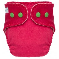 """""""Pink Blush"""" Fitted Pocket Diaper - NB"""