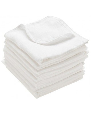 Cotton Flat Diapers - 3 sizes