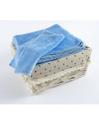 Bamboo Velour Baby Wipes 12x12 cm