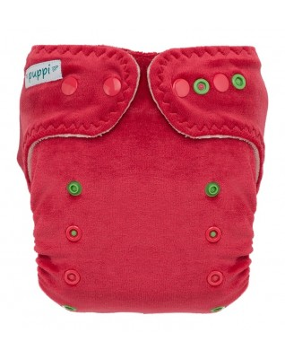 """""""Pink Blush"""" Pocket Fitted Diaper OS"""