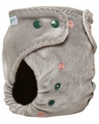 """Morning Mist"" Pocket Fitted Diaper"