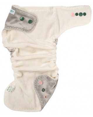 """Morning Mist"" Pocket Fitted Diaper"