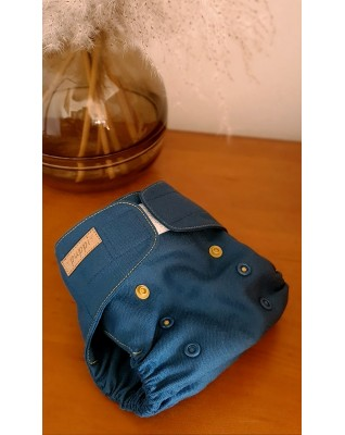 """Royal Blue"" Merino Wool Cover OS"