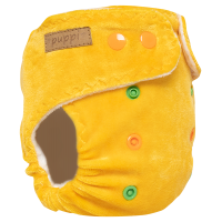 """""""Late Fall"""" Pocket Fitted Diaper - MOS - V2"""