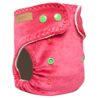 """""""Pink Blush"""" Fitted Pocket Diaper - MOS - V2"""