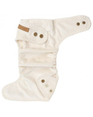 """""""Ice Cream"""" Fitted Pocket Diaper - MOS"""