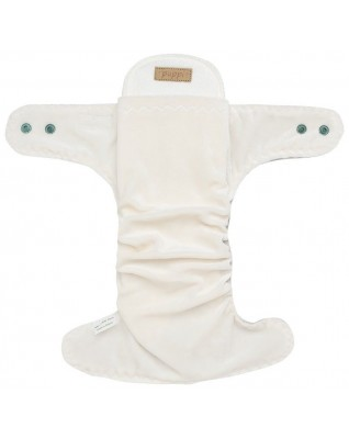 """Ice Cream"" Fitted Pocket Diaper - MOS"