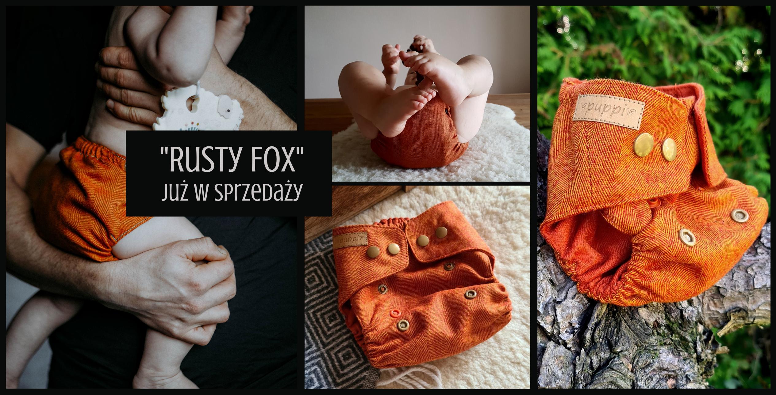 Otulacz wełniany Rusty Fox